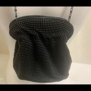 Drawstring Pouch Black bag